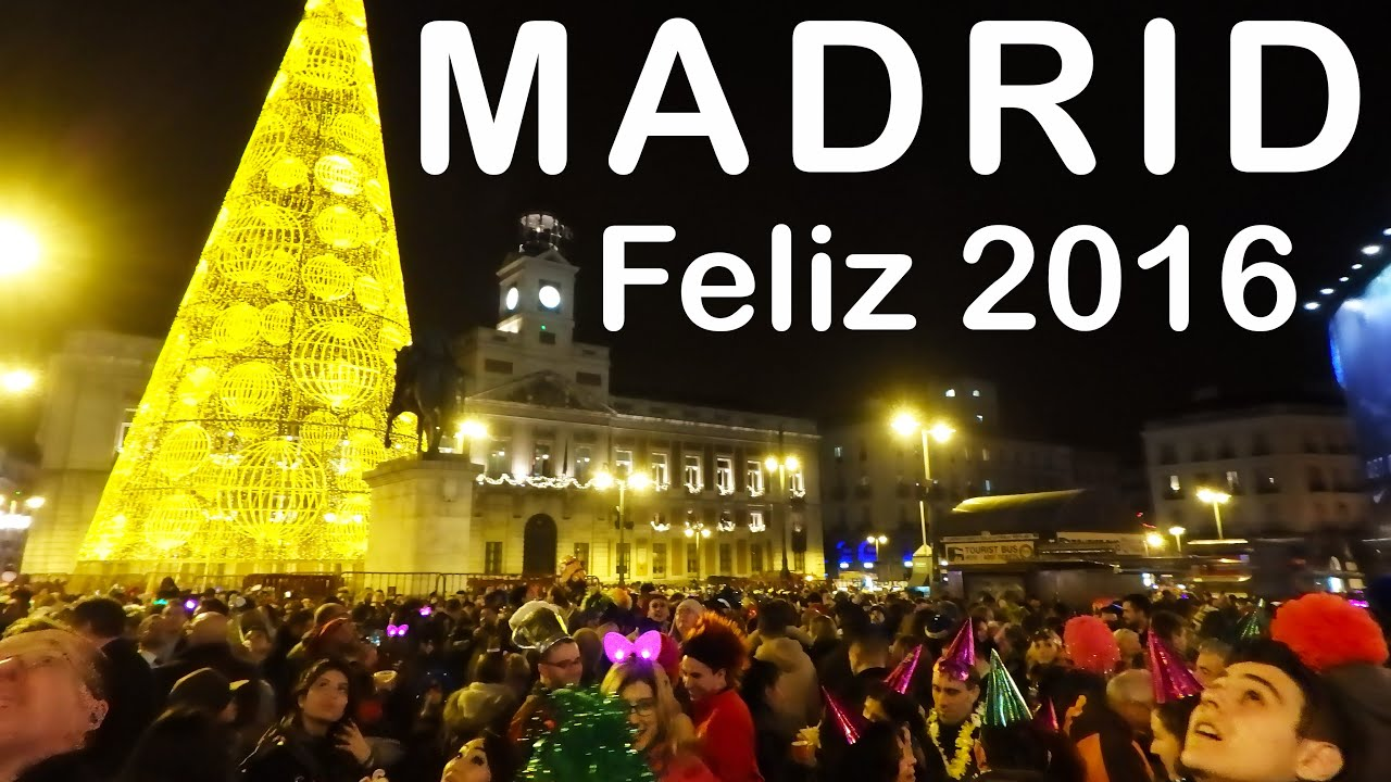 madrid puerta del sol nochevieja new years eve 2015 2016