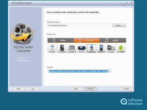All Free Video Converter Quick Demo