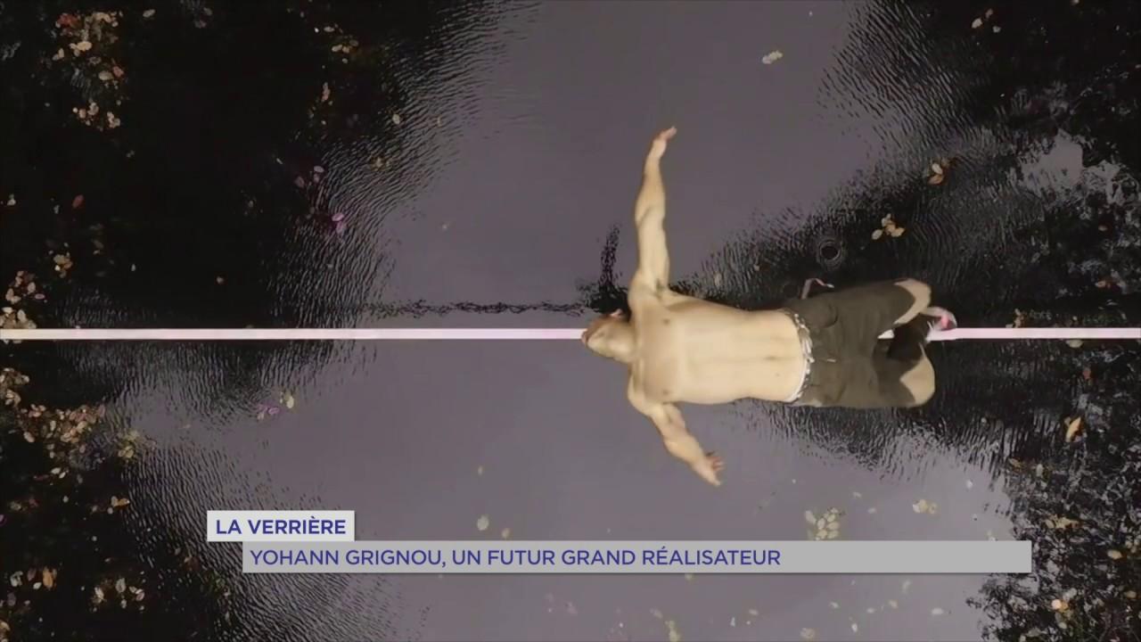 La Verrière : Yohann Grignou, un futur grand réalisateur