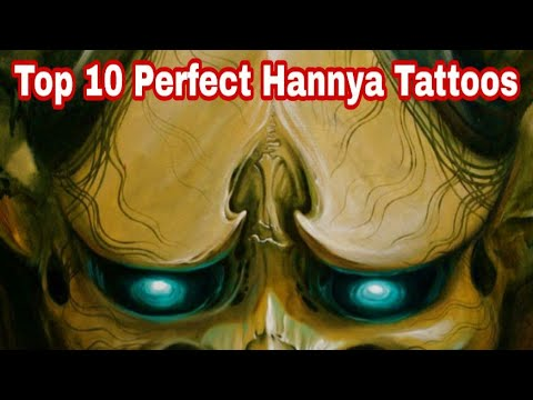 Top 10 Perfect Hannya Tattoo [ Tattoo World TV #16 ]