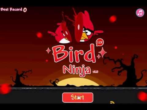 Angry Birds Ninja เกมส์แองกี้เบิร์ดนินจา