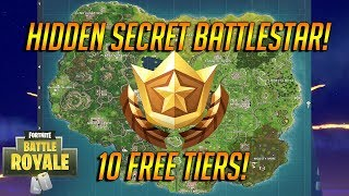 NEW Secret Free Tier Challenge In Fortnite Battle Royale! 10 Tiers For Free Guide!
