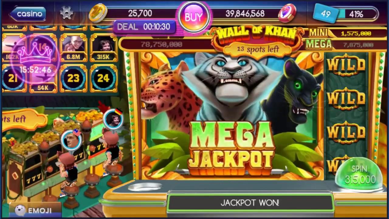 Pop Slots! Mega Jackpot at Wall of Khan - YouTube