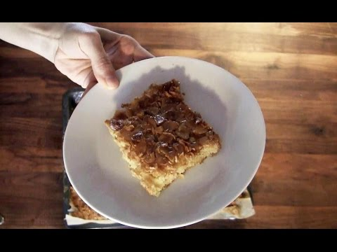 So backt man ganz schnell einen leckeren Mandelkuchen