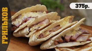Хрустящий питсбургер (#velkomfood_BBQ)