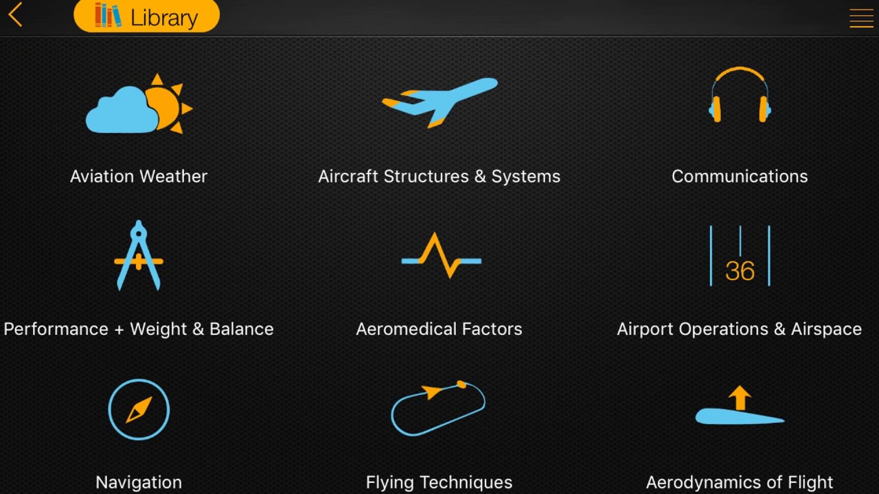 PPL Exam & Study for iPhone, iPad   FlyGo-Aviation Ltd