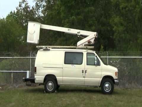1995 Telsta A28D Bucket Van