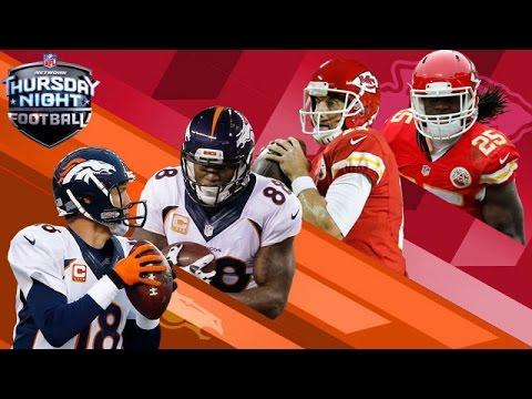 Peyton Manning vs. Arrowhead   Broncos vs. Chiefs (Week 2)   Thursday Night Football   NFL