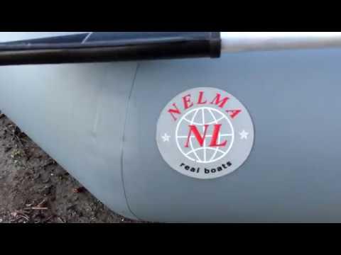Обзор гребно-моторной лодки NELMA 260