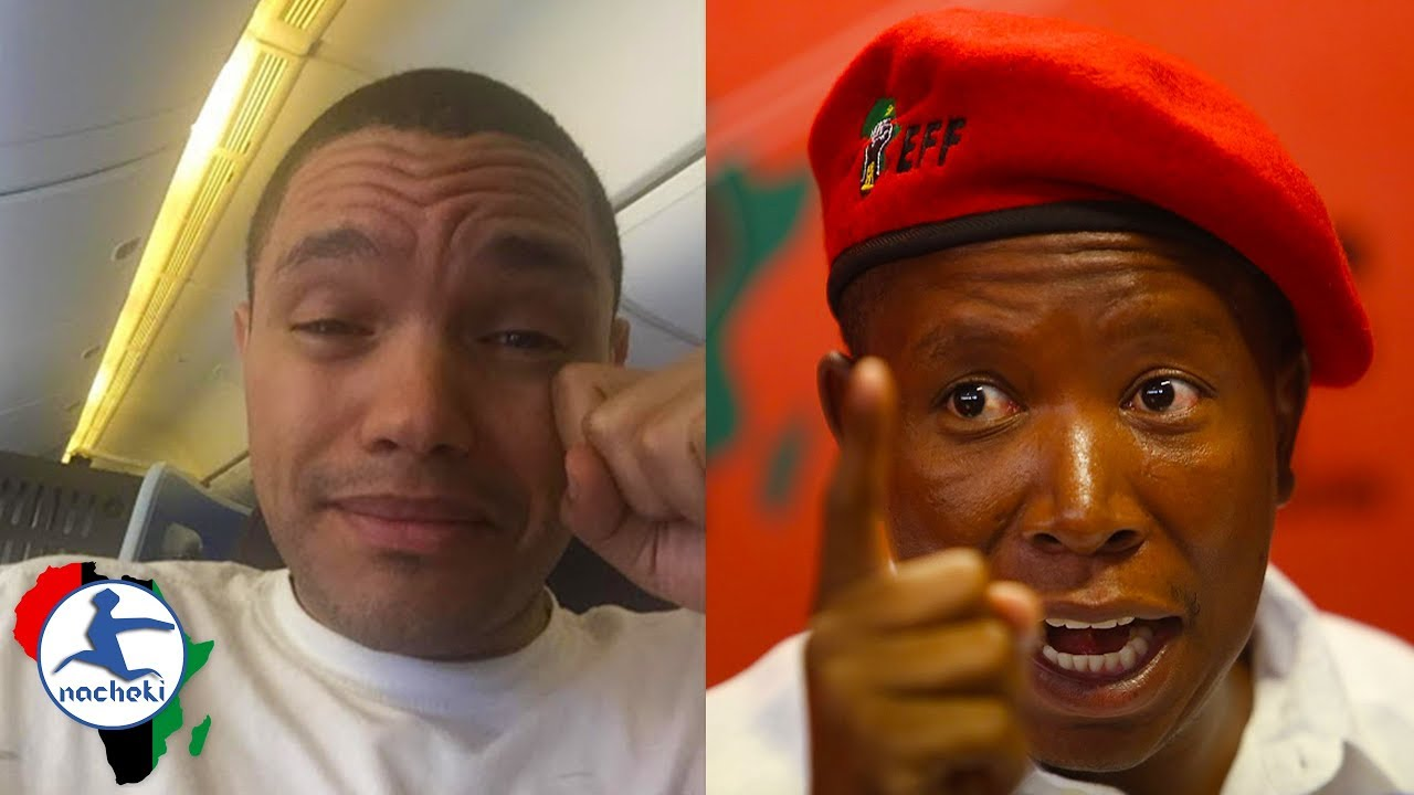 SOUTH AFRICA: Julius Malema Gives Epic Clap Back to Trevor Noah's Disparaging Joke