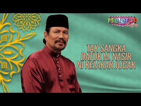 Lawak juga Datuk M. Nasir ni bila kena interview | MeleTOP Throwback Raya | Nabil & Neelofa