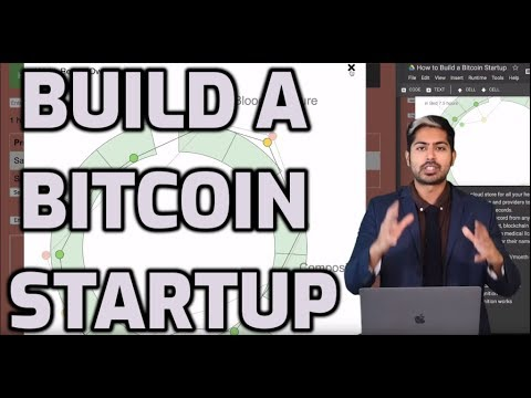 How To Build A Bitcoin Startup