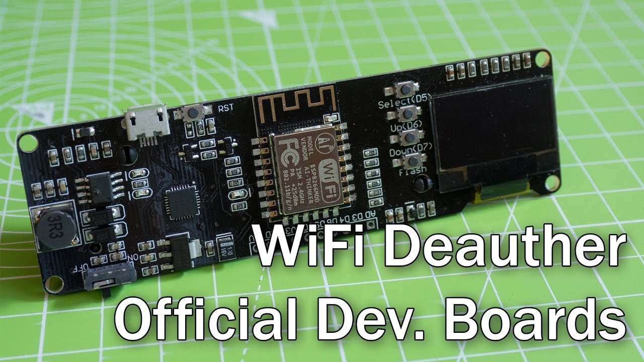 Introducing: New WiFi Deauther Boards