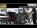 Thule EasyFold XT 3 bike tow bar Bike Rack – How to fit