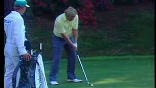 Jack Nicklaus 13th Hole 1986 Masters