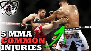 5 Most Common Injuries in MMA: How to Prevent Them!