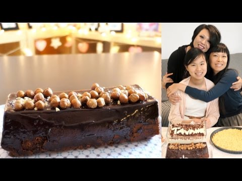 recette-cake-moelleux-chocolat-noisettes-vegan-|-gâteau-d'anniversaire