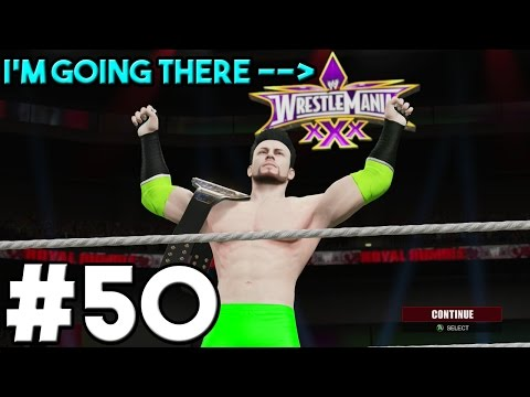 WWE 2K15 My Career Walkthrough Part 50 - United States Title Steel Cage Match