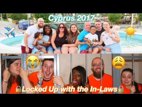 Schofield Family Holiday|| Away with the In-Laws||Travel Vlog||CYPRUS 2017 (Part 1)