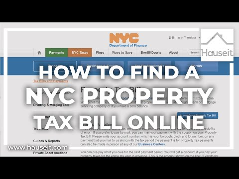 How to Easily Look up NYC Property Taxes Online [Tutorial]