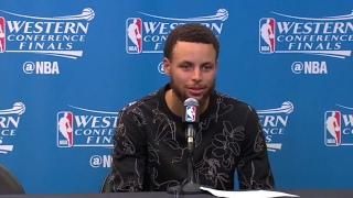 Stephen Curry Postgame Interview | Warriors vs Spurs | Game 3 | May 20, 2017 | 2017 NBA Playoffs