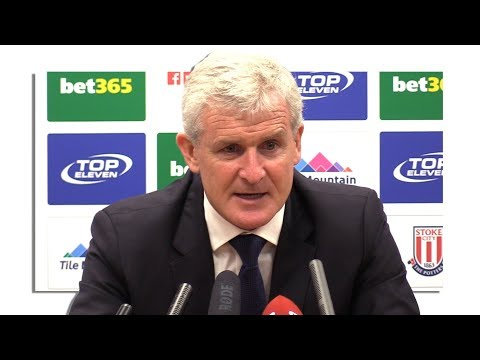 Stoke 1-0 Arsenal - Mark Hughes Full Post Match Press Conference - Premier League