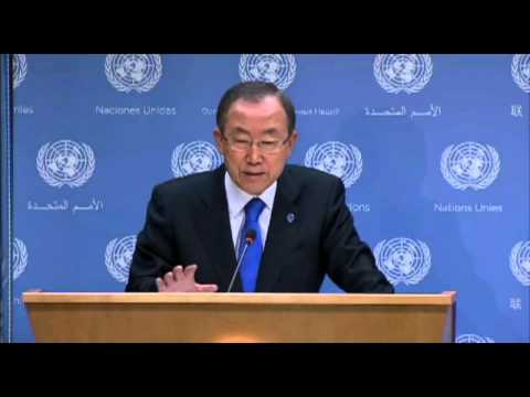 UN urges Syria to hand over chemical weapons