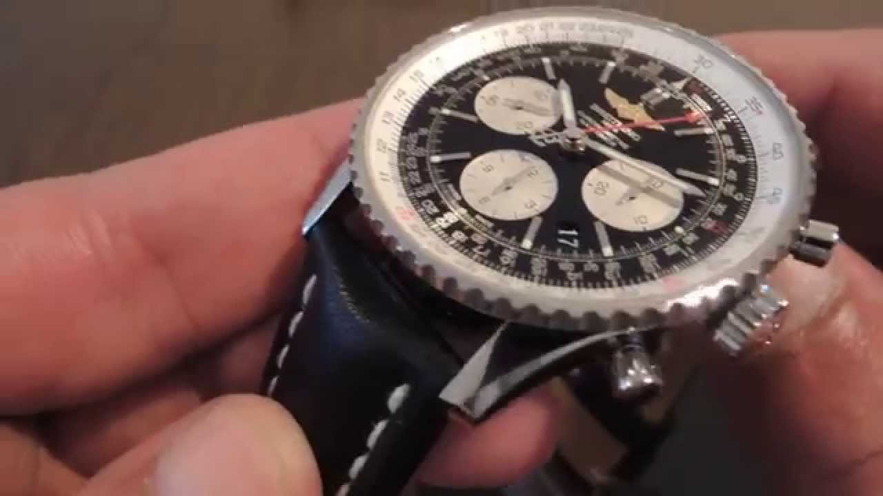aviator watch breitling sekl  Breitling Navitimer 01 Angel Watches