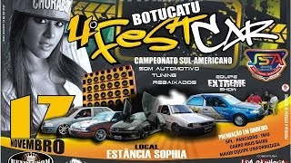 4º Fest Car em Botucatu - SP WK videos
