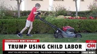 CNN: Trump Using Child Labor 😂