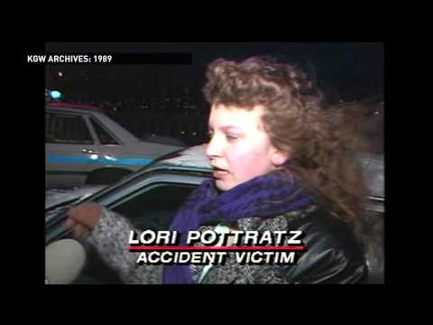 1989 Snowstorm KGW News 8 at 5