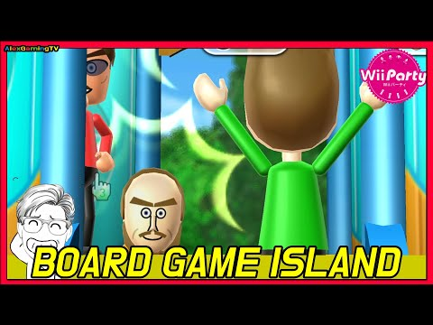 Wii party (Wii パーティー) - Board Game Island (Jp Sub)