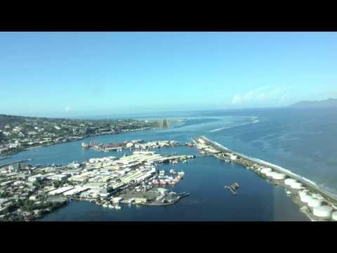 Tahiti, Landing NTAA VOR DME 22