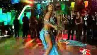Hot turkish belly dancer in blue! (nouran Sultan)