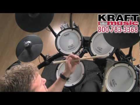 Kraft Music - Roland V-Compact TD-11KV Demo with Steve Fisher