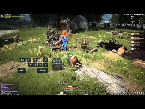 Black Desert Online CBT2 Four World Boss Battles HD