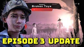 """The Walking Dead:Season 4 Episode 3 """"Broken Toys"""" NEW NEWS UPDATE - The Final Season"""