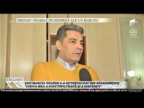"""Marcel Toader s-a autoevacuat din apartament: """"Sunt urmărit de un grup infracțional!"""""""