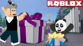 Opening Surprise Boxes And Collecting Items - Roblox Unboxing Simulator with Panda