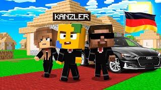 VITAMINE Vs. PRÄSIDENT Des DORFES In Minecraft! 💼