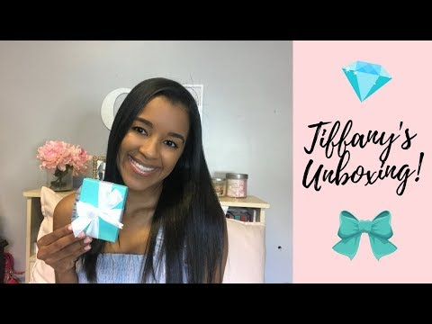 Unboxing my first Tiffany & Co Necklace!!