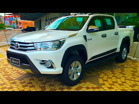 New Pickup Toyota Hilux Revo Double Cab 2016 2017 Youtube