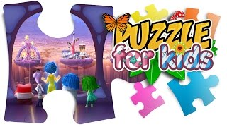Games for Kids: Inside out puzzle
