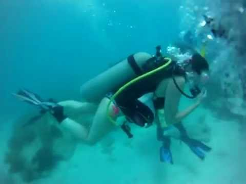 Scuba Diving Looe Key Reef in Big Pine Key, Filmed with GoPro