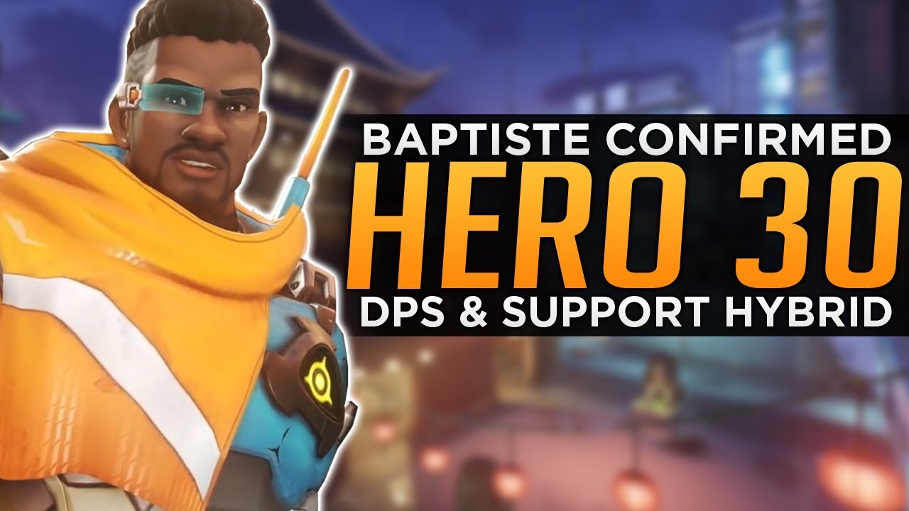 Overwatch: NEW Hero 30 Baptiste! - DPS Support Hybrid!