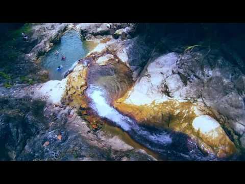 Lawom Lingin Falls in Jagna Bohol