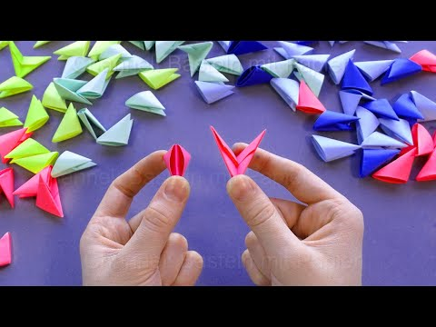 How To Make A 3D Paper Star (HD) - YouTube   360x480