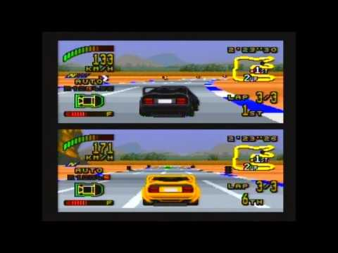 SNES Top  gear 2 two player part 2 finished