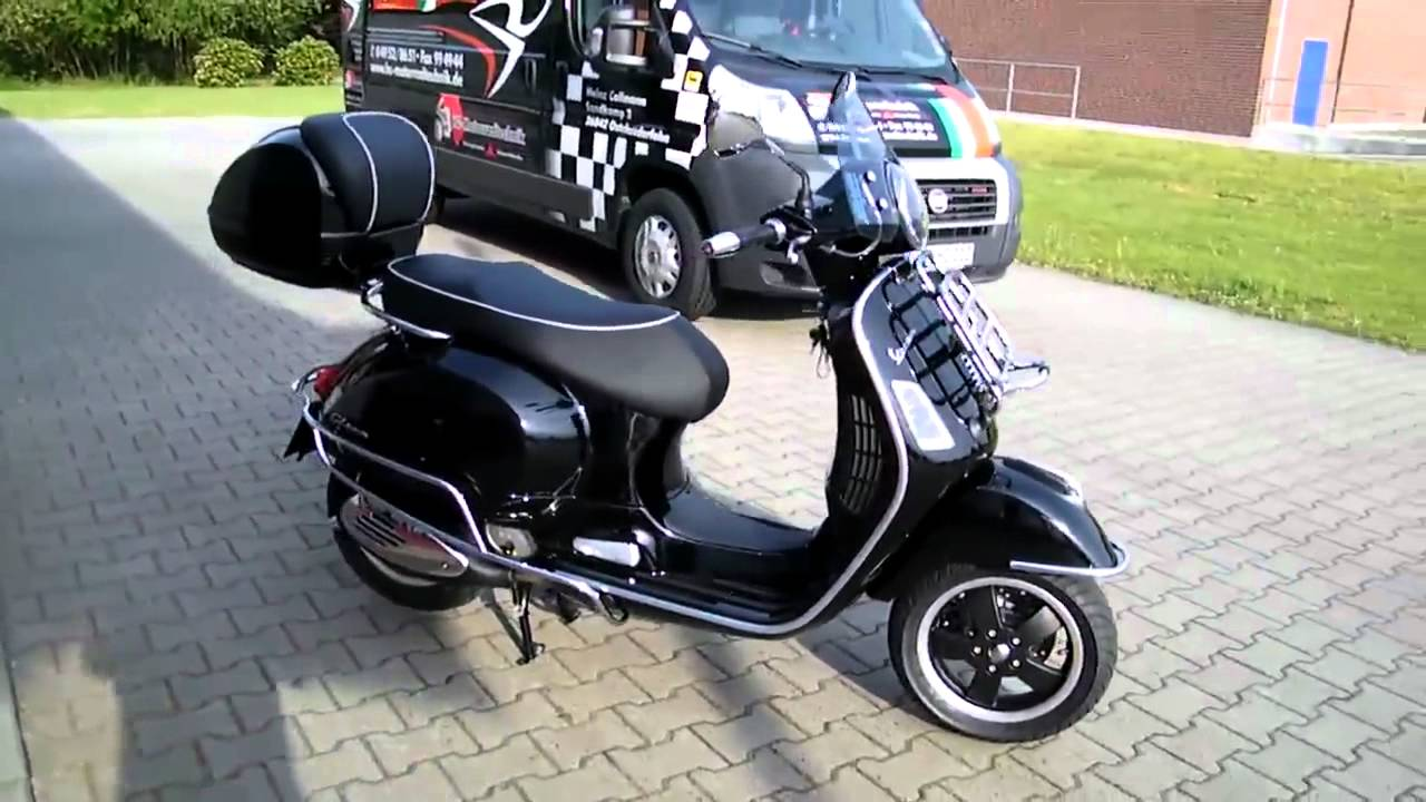 vespa frontklappgep cktr ger gt gts 125 300 zubeh r neu. Black Bedroom Furniture Sets. Home Design Ideas
