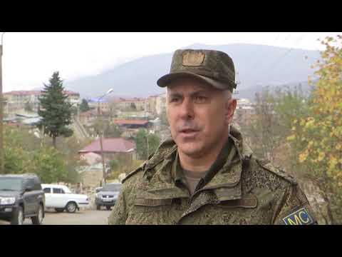 Интервью командующего миротворческими силами РФ в Нагорном Карабахе генерал-лейтенантом Р. Мурадовым